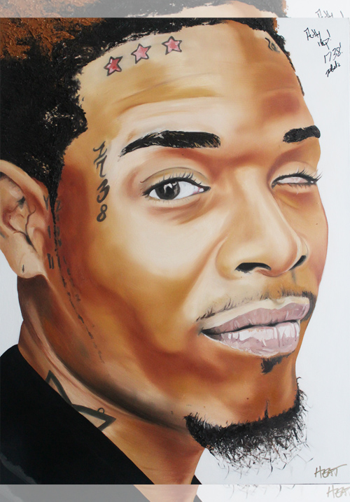Fetty Wap Portrait *SIGNED* Email InfiniteMeasures1@gmail.com for pricing