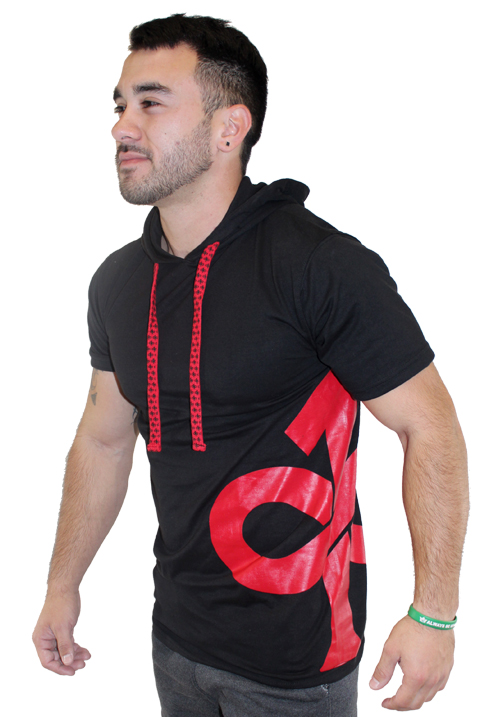 Fitted Hooded Tee BR
